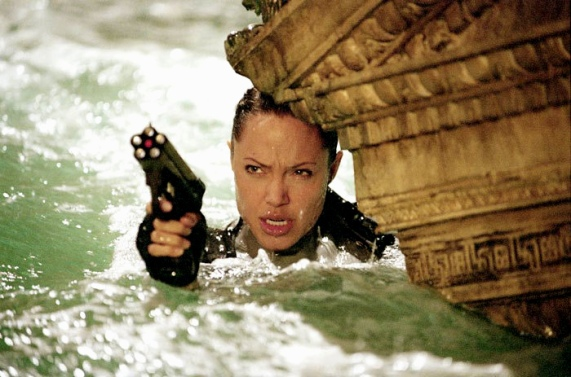 "Still from the film ""Lara Croft Tomb Raider: The Cradle of Life"""