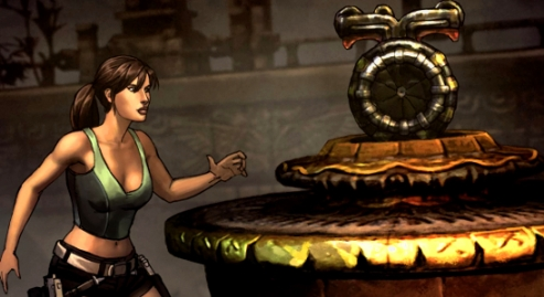 It might not be archaeology but Tomb Raider can still serve an educational purpose (Photo credit: Katie's Tomb Raider Site)