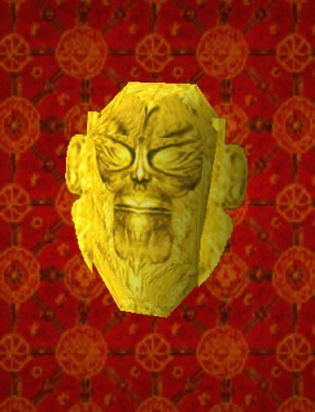The Golden Mask of Tornarsuk (Photo credit: Wikiraider)