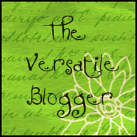 The Versatile Blogger Award button