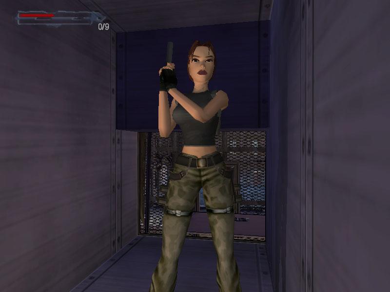 Camo pants for the win! (Image credit: Katie's Tomb Raider Screenshots)