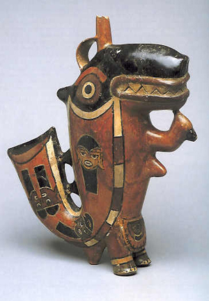 The original vessel is part of the Larco Museum's extensive collection of Nasca pottery (Image credit: Wikimedia Commons)