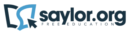 The Saylor Foundation's logo (Image credit: The Saylor Foundation)