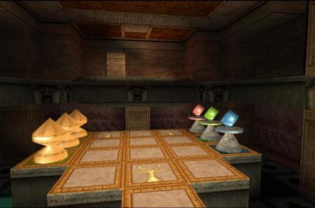 Fancy a game of Senet? (Image credit: Katie's Tomb Raider Screenshots)
