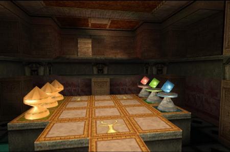 Fancy a game of Senet? (Image credit: Katie's Tomb Raider Screenshots)