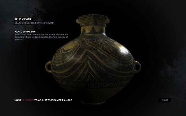 The Kansu burial urn as seen in Tomb Raider 2013