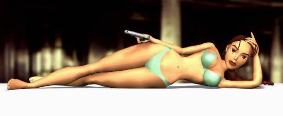 Lara Croft bikini
