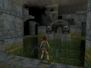 Even ancient sewers couldn't deter this lady (Image credit: TombRaiderChronicles)