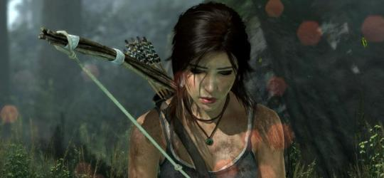 Lara as she appears in Tomb Raider 2013