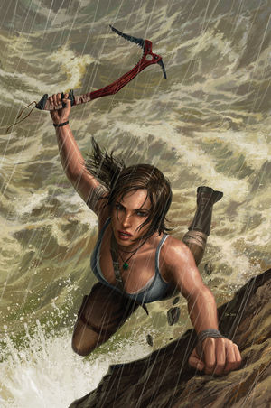 Cover art for Tomb Raider #2 (Artist: Dan Scott)