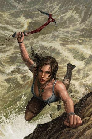 Cover art for Tomb Raider #2 (Artist: Dan Scott)