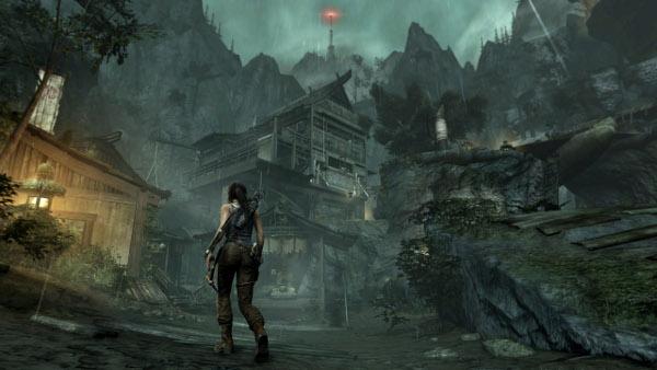 Stranded on a mysterious and dangerous island, Lara must fight to survive, one ordeal at a time (Image credit: Tomb Raider)