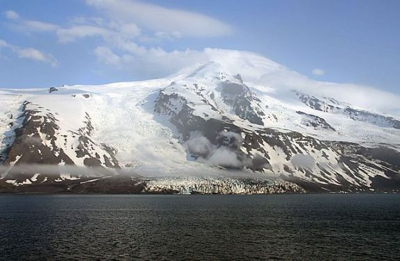 Beerenberg, the volcano that dominates the landscape of northern Jan Mayen (Image credit: Wikimedia Commons)