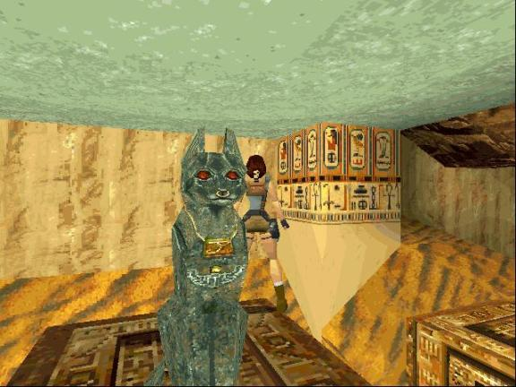 Lara won't simply settle for a replica from the British Museum gift shop (Image credit: Old-Games.Com)