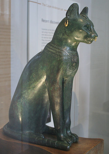 The Gayer-Anderson cat (Image credit: Wikimedia Commons)
