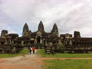Outer walls of Angkor Wat