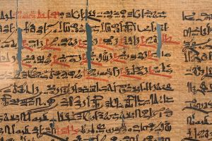 Fragment of hieratic text