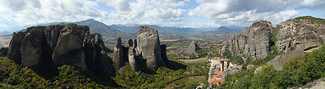 Meteora in Central Greece
