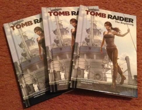 Tomb Raider prequel comic