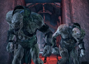 Yeti thralls seen in Tomb Raider: Underworld