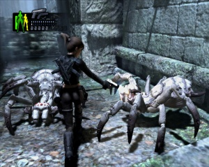 Giant spiders seen in Tomb Raider: Underworld