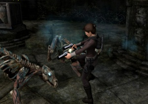 Tiger thralls from Tomb Raider: Underworld