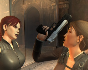 The doppleganger from Tomb Raider: Underworld
