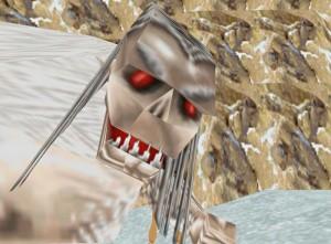 Yeti from Tomb Raider 2