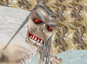 Yeti from Tomb Raider 2