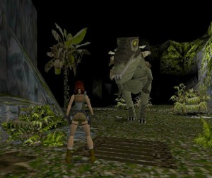 The T-Rex from Tomb Raider 1