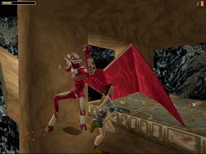 Atlantean mutants from Tomb Raider 1