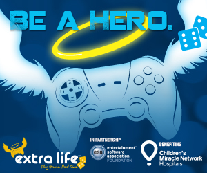 Extra Life. Play games. Heal kids.