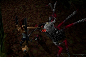 Giant spiders from Tomb Raider 2
