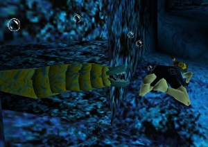 Eel from Tomb Raider 2