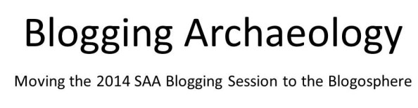 Blogging Archaeology logo