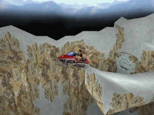 Tibet in Tomb Raider 2