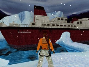 Antarctica in Tomb Raider 3