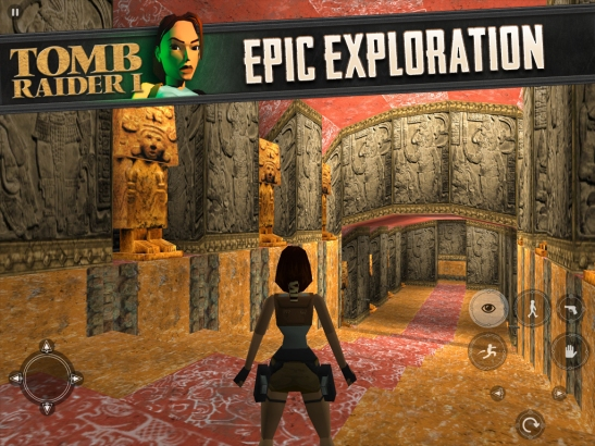 Tomb Raider on the IPad