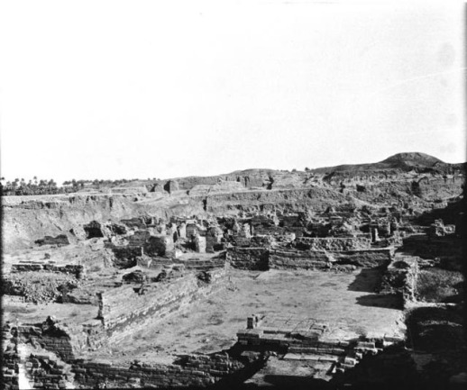 The site of Babylon as it looked in 1909