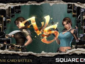 Lara Croft versus Lara Croft