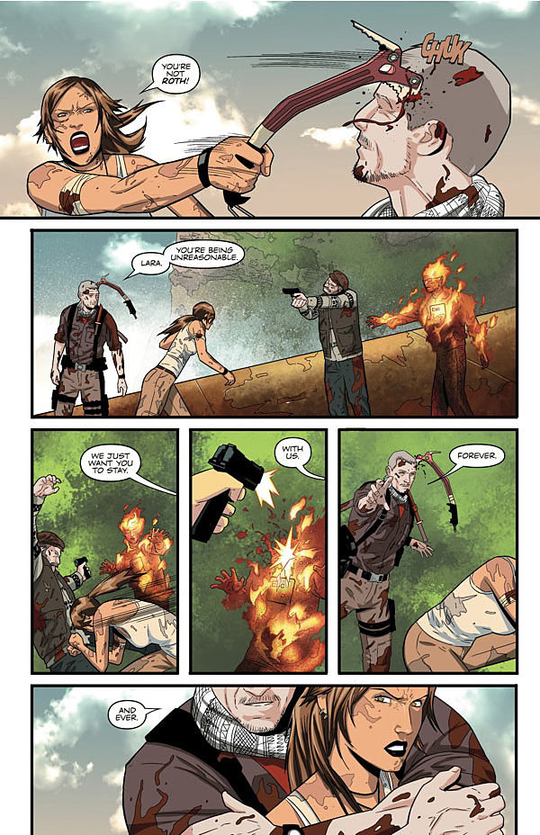 Preview of Tomb Raider #1