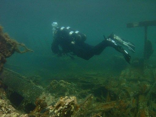 Underwater archaeology in practice
