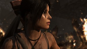 Lara Croft in Tomb Raider 2013