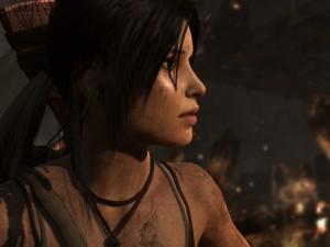 Lara Croft in Tomb Raider 2013