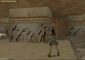 Scenes of Greek wrestlers in Tomb Raider 1's Colosseum level