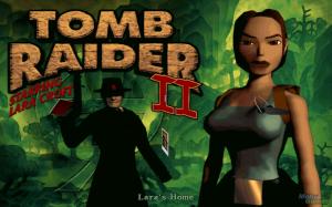 Tomb Raider 2 main menu