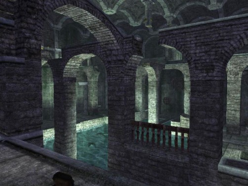 The Cistern as seen in Tomb Raider: Anniversary