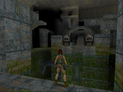 The Cistern in Tomb Raider 1
