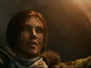 Lara Croft as seen in Rise of the Tomb Raider
