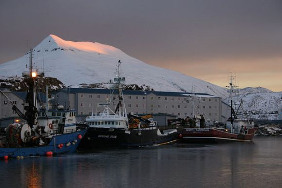 Dutch Harbour on Unalaska Island